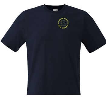 25 Engr Group (TA) RE embroidered T-shirt